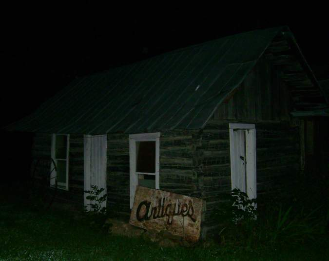 Haunted Log Cabin Orb Picture