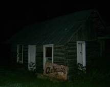 Haunted log cabin in Kentucky