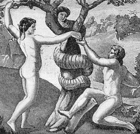 Lilith with Adam and Eve