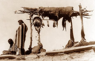 Native American Burial