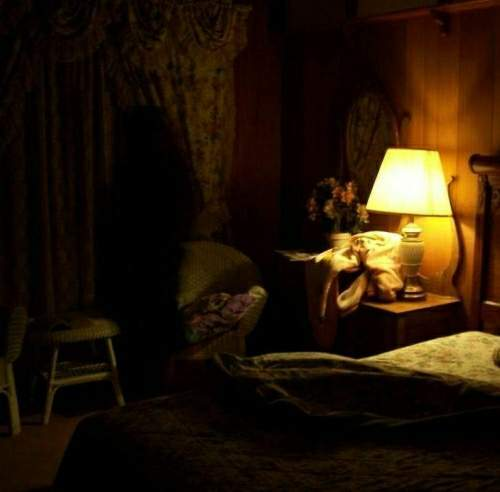 Virginia City Nevada Motel Ghost Picture