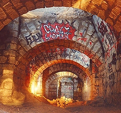 Catacombs of Paris Vandalism