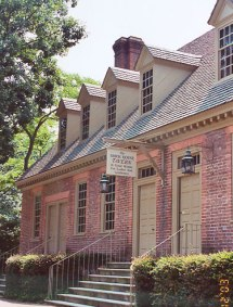 Brickhouse Tavern in Colonial Williamsburg